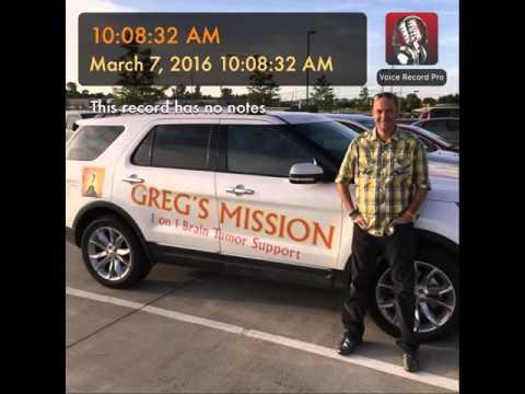 Greg Cantwell 12 year GBM IV Survivor tells all!!