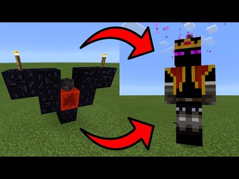 How To Spawn the End King Boss in Minecraft Pocket Edition (End King Boss Addon)