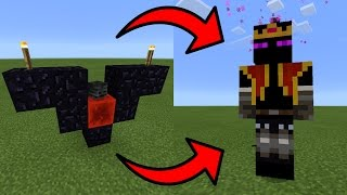 How To Spawn the End King Boss in Minecraft PE