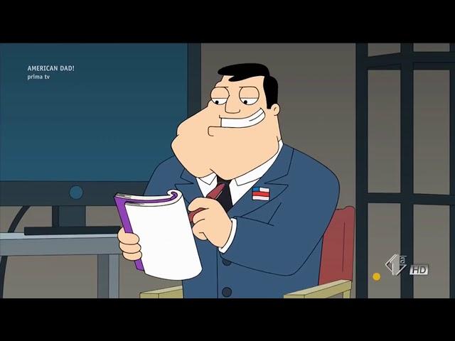 American Dad ITA - Stan decide di aiutare Steve nel suo Progetto di Storia.... (ft. Vin Diesel)