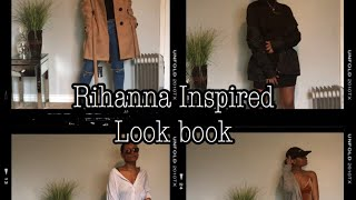 Rihanna Inspired Look Book on a Budget ✨