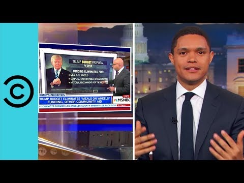 Trump Loves Spending Your Money - The Daily Show   Comedy Central