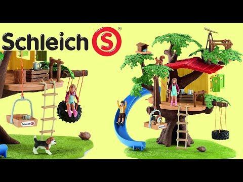 Schleich 42408-Aventure Tree House-NEUF!!!
