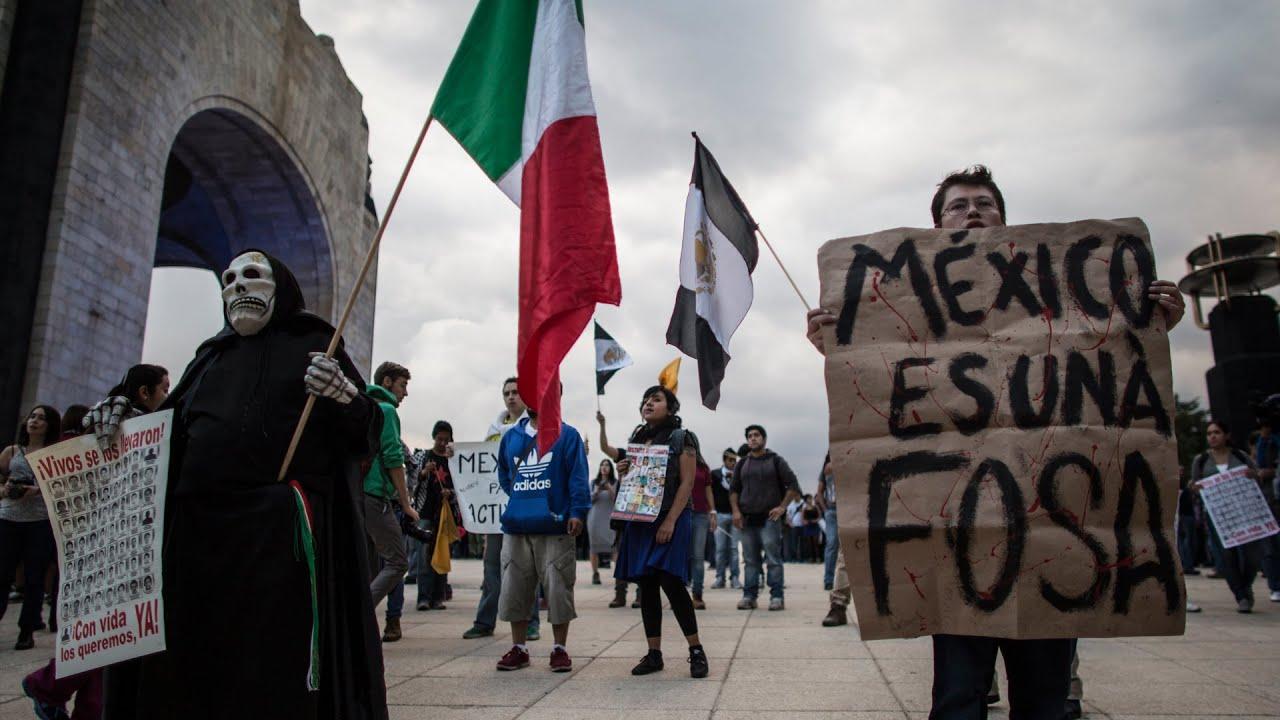 México recibe con protestas a Enrique Peña Nieto