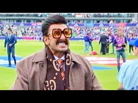 Ranveer Singh's Outfit at India vs Pakistan Match Turns Heads, Sparks Social Media Frenzy.... Mp3