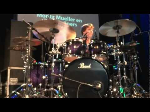 Moritz Müller: Drum solo at  Adams Drumworld Festival 2012