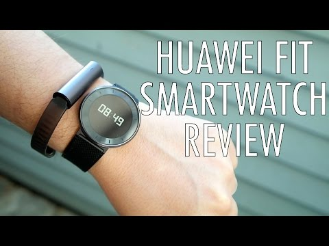 Huawei Fit Review: Can It Bridge Smartwatches And Fitness Bands? | Pocketnow