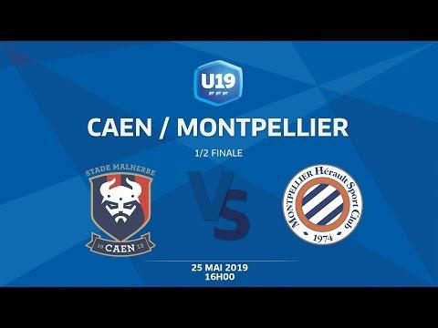 1/2 Finale U19 National : Caen / Montpellier - Samedi 25 mai à 16h00