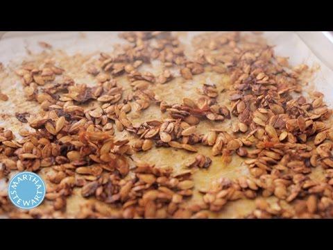 Roasted Squash Seeds - Kitchen Wisdom - Martha Stewart