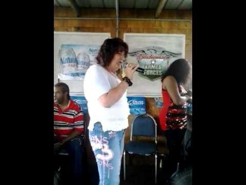 Me Singing At The Beer Garden In Jacksonville FL