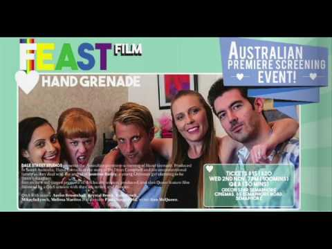 Hand Grenade (2016) interview Paul Dangerfield and Colin Pearce - Meat Bone Express