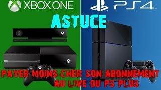Astuces | Abonnements PS,XBOX LIVE Reductions !