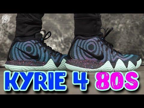 kyrie 4 80s on feet
