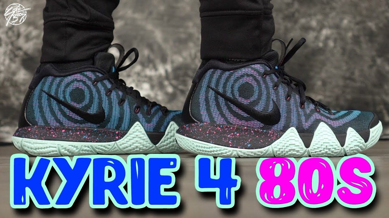 ce425ff80faf Nike Kyrie 4 Decades Pack 80 s Detailed Look! - YouTube