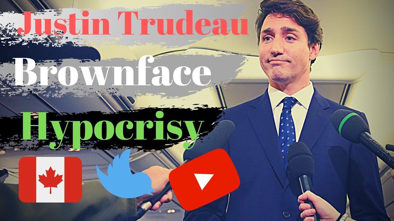 Justin Trudeau Brownface HYPOCRISY! TRIGGER WARNING!!