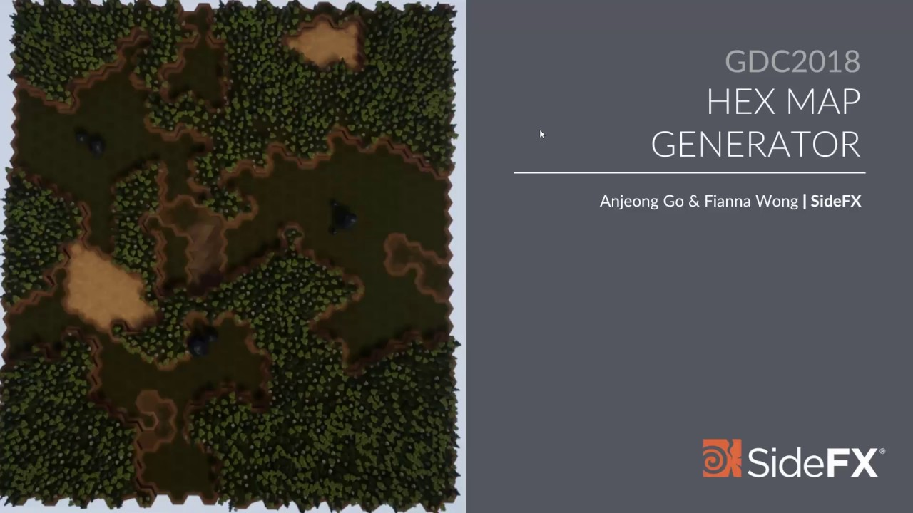 Hex Map Generator Anjeong Go Fianna Wong Gdc 2018 Youtube