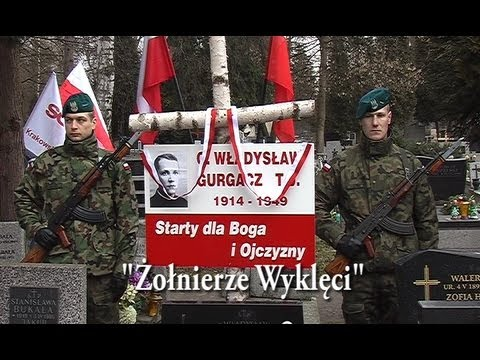 Żołnierze Wyklęci.Kraków-Cmentarz Rakowicki.