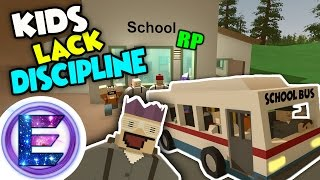 Video SCHOOL RP - Kids lack discipline - Be Quiet - Unturned Roleplay ( Funny Moments ) download MP3, 3GP, MP4, WEBM, AVI, FLV Maret 2018