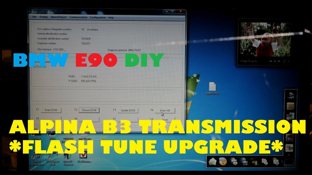 Alpina B3 Transmission Flash Tune DIY  On Your Automatic E90 BMW 335i