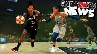 NBA 2K20 News #39 - WNBA Gameplay / Woman's MyCareer Storyline?