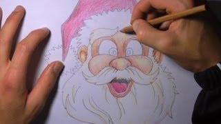 Disegnare Babbo Natale