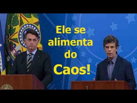 Demissão de Mandetta: Bolsonaro se alimenta do Caos - YouTube