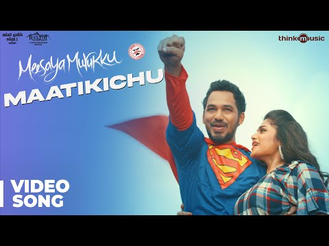 Meesaya Murukku Songs | Maatikichu Video Song | Hiphop Tamizha, Aathmika, Vivek