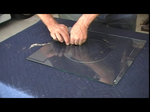 Cut A Hole In Glass For A Cat Or Dog Door Youtube