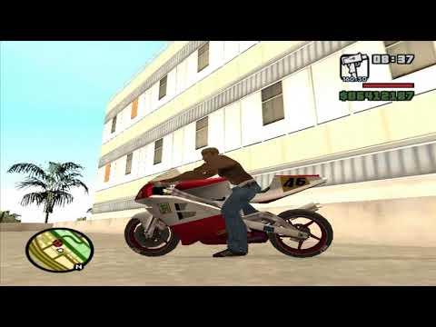 Como Pegar Moto Mais Rapida Do Gta San Andreas