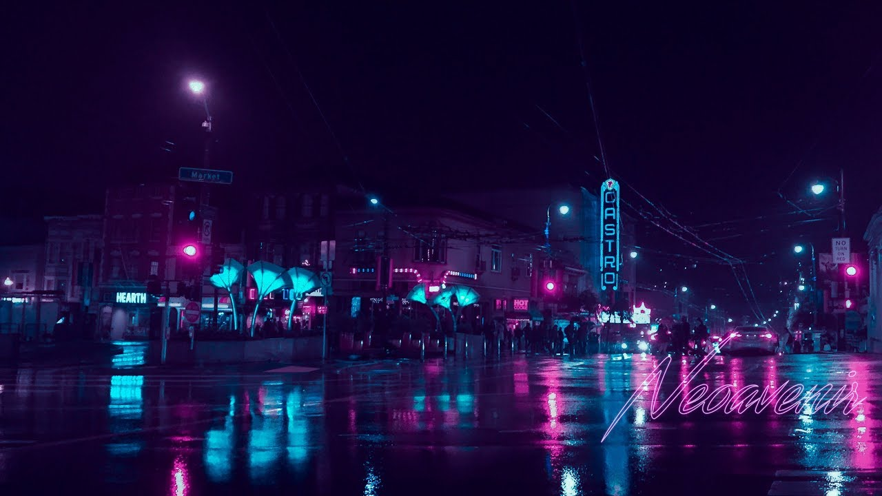 Cyberpunk Edit in Lightroom (Neoavenir)