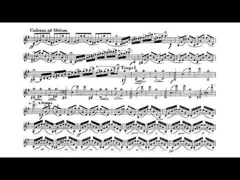 Violin Concerto in E minor, Op. 64 - Felix Mendelssohn (Score)
