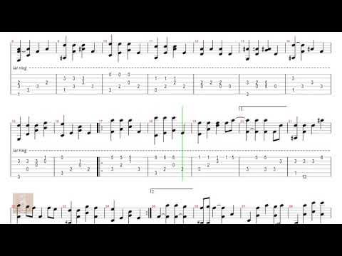 A Little Love - Fiona Fung - Tab guitar solo