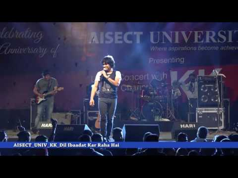 AISECT UNIVERSITY KK LIVE DIL IBAADAT KAR RAHA HAI