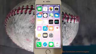 How to change Brightness light picture in iPhone 6
