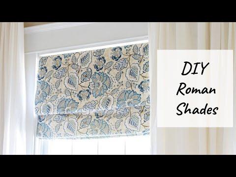 DIY Roman Shades