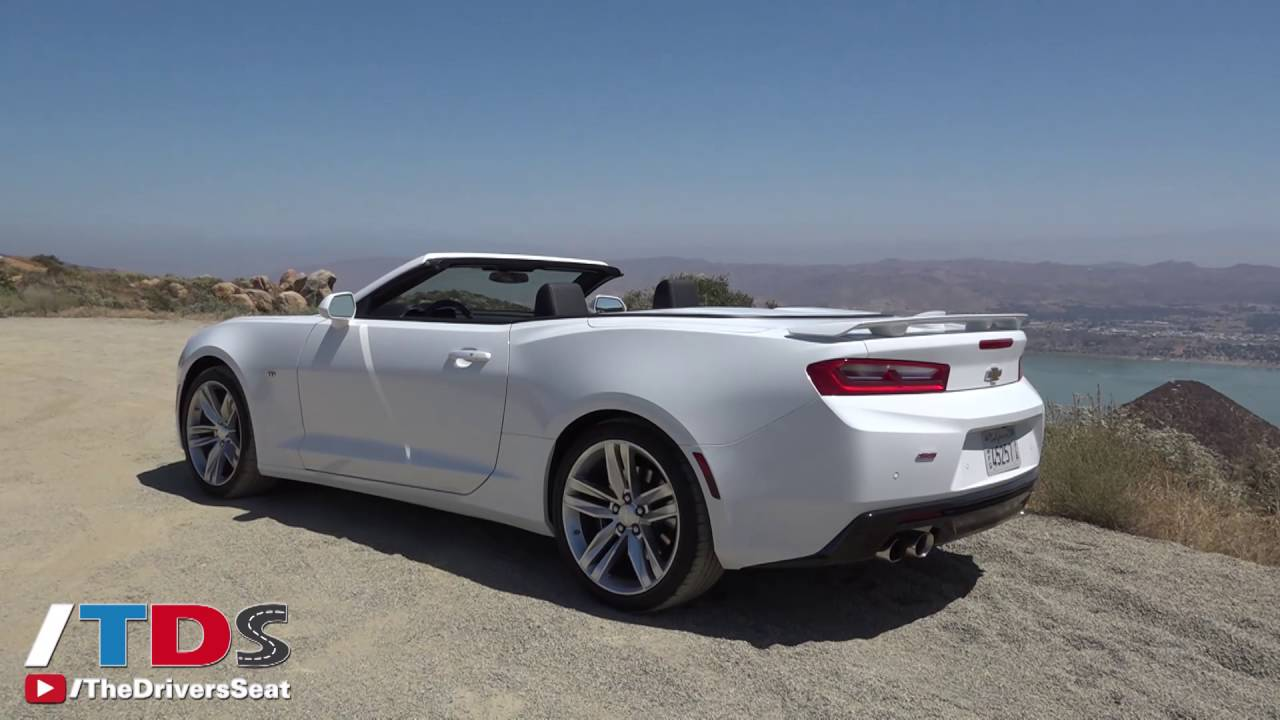 2016 Camaro Convertible Review Ss V8 A Truly Refined Top Down Muscle Car
