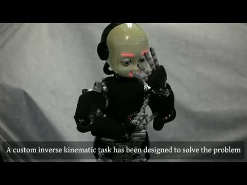 Automatic Kinematic chain calibration using artificial skin: self-touch in the iCub humanoid robot