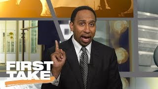 Stephen A. Smith Celebrates Phil Jackson Leaving Knicks | First Take | June 28, 2017