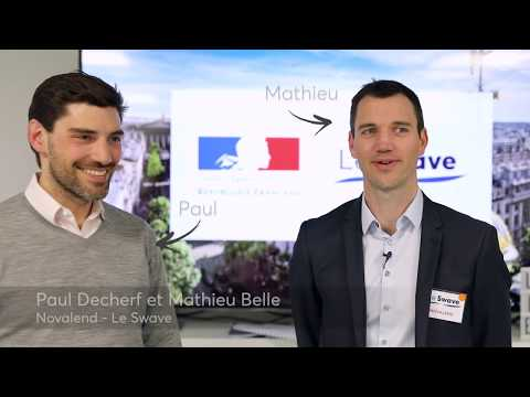 [Pitch startup] Interview de Paul Decherf et Mathieu Belle, Novalend