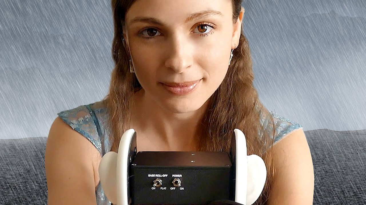 ASMR Guided Relaxation Journey – Binaural Whisper Ear to Ear Ambient Sounds of Rain