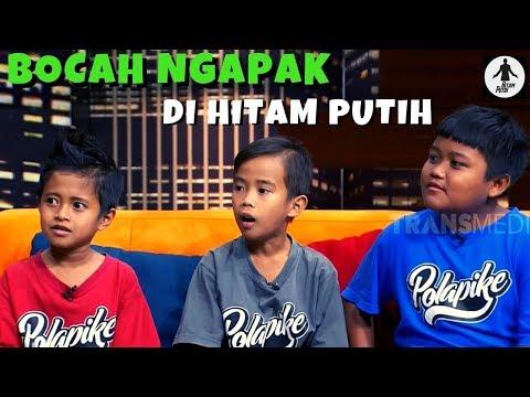 Deddy Corbuzier DIMARAHI Bocah Ngapak | HITAM PUTIH (14/03/19) Part 1