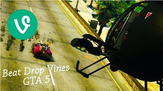 GTA 5 BEAT DROP VINES COMPILATION FEBRUARY 2017! Crazy Stunts and EPIC Wins! (GTA 5 Stunt Vines)