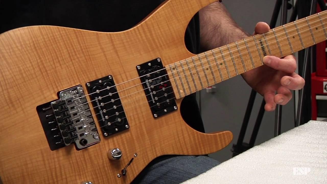 esp guitars adjusting intonation on a floyd rose equipped guitar youtube. Black Bedroom Furniture Sets. Home Design Ideas