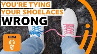 How to tie shoelaces the RIGHT way | BBC Ideas
