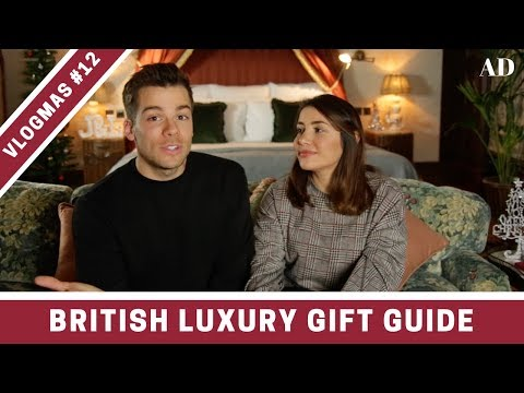 Luxury Christmas Gift Guide 🎁  VLOGMAS DAY 12