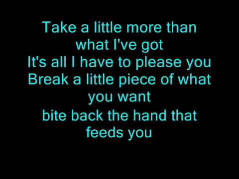The All American Rejects - Bite Back With Lyrics