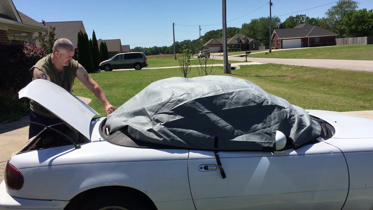 Mazda Mita Car Cover. Small Ep 9. Hanny And Jay.