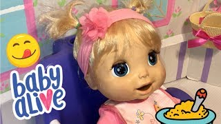 Baby Alive video 2006 SOFT FACE BABY ALIVE feeding and changing