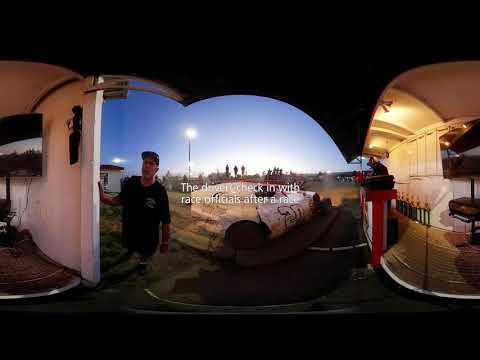360 Video – Ocean Speedway: A day at the races