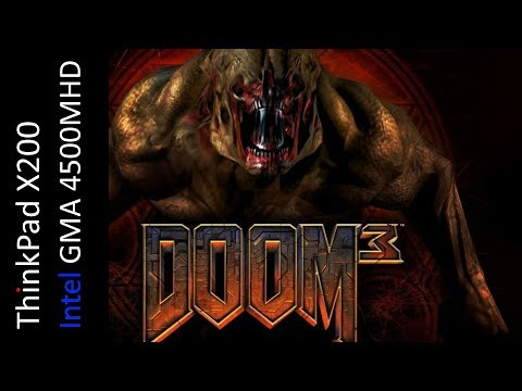 Doom 3 (Intel GMA 4500MHD)